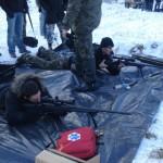 Akademia Obrony Saggita Tadeusz Dubicki Strzelanie Bojowe Snajper 1000m 11