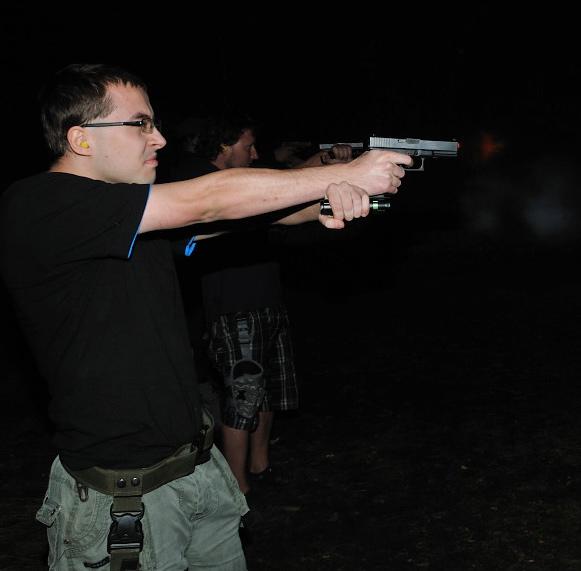 Akademia Obrony Saggita Tadeusz Dubicki Strzelanie Bojowe Strzelanie Night Vision 07