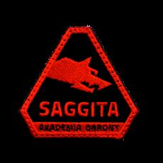 Logo Akademii Obrony Saggita
