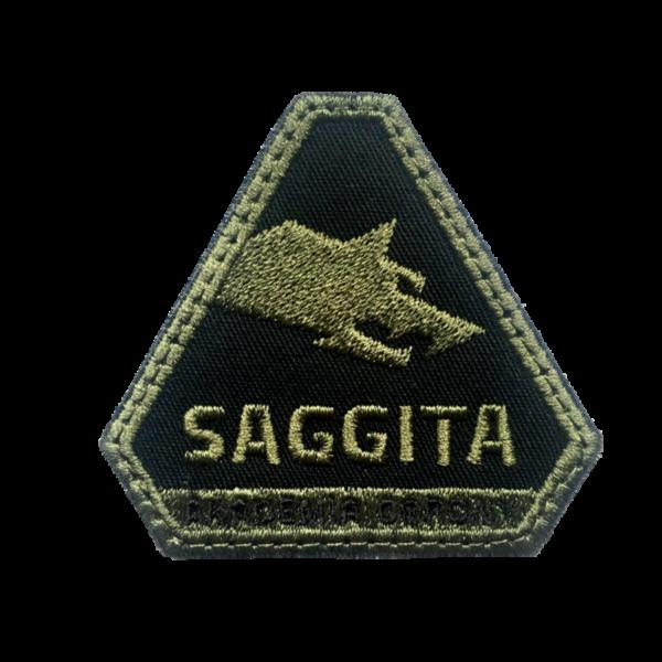 Logo Akademii Obrony Saggita1