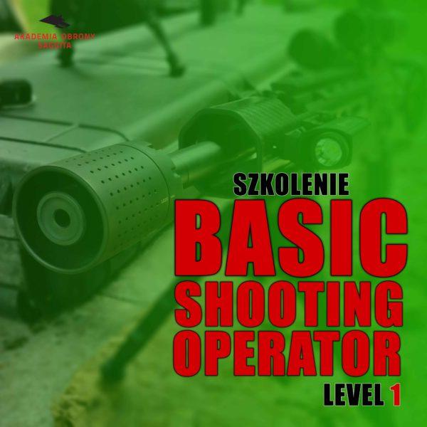 Basic shooting Operator AOS mały