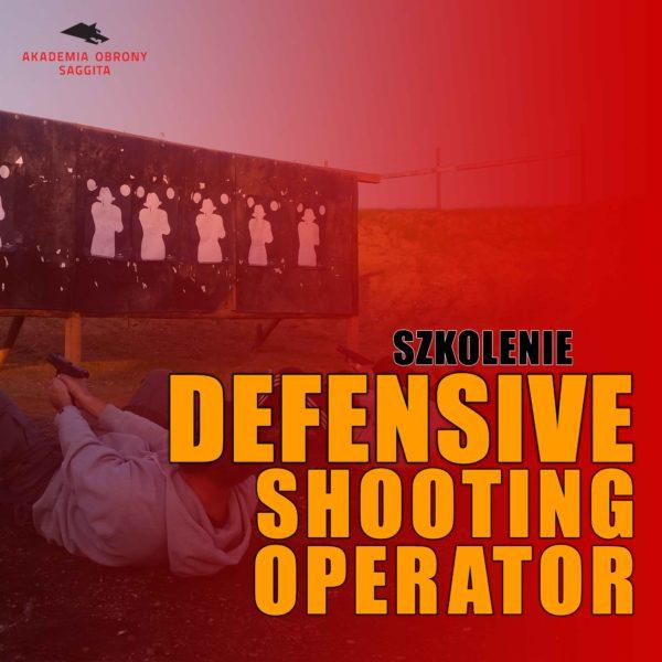 Defensive Shooting Operator AOS małe