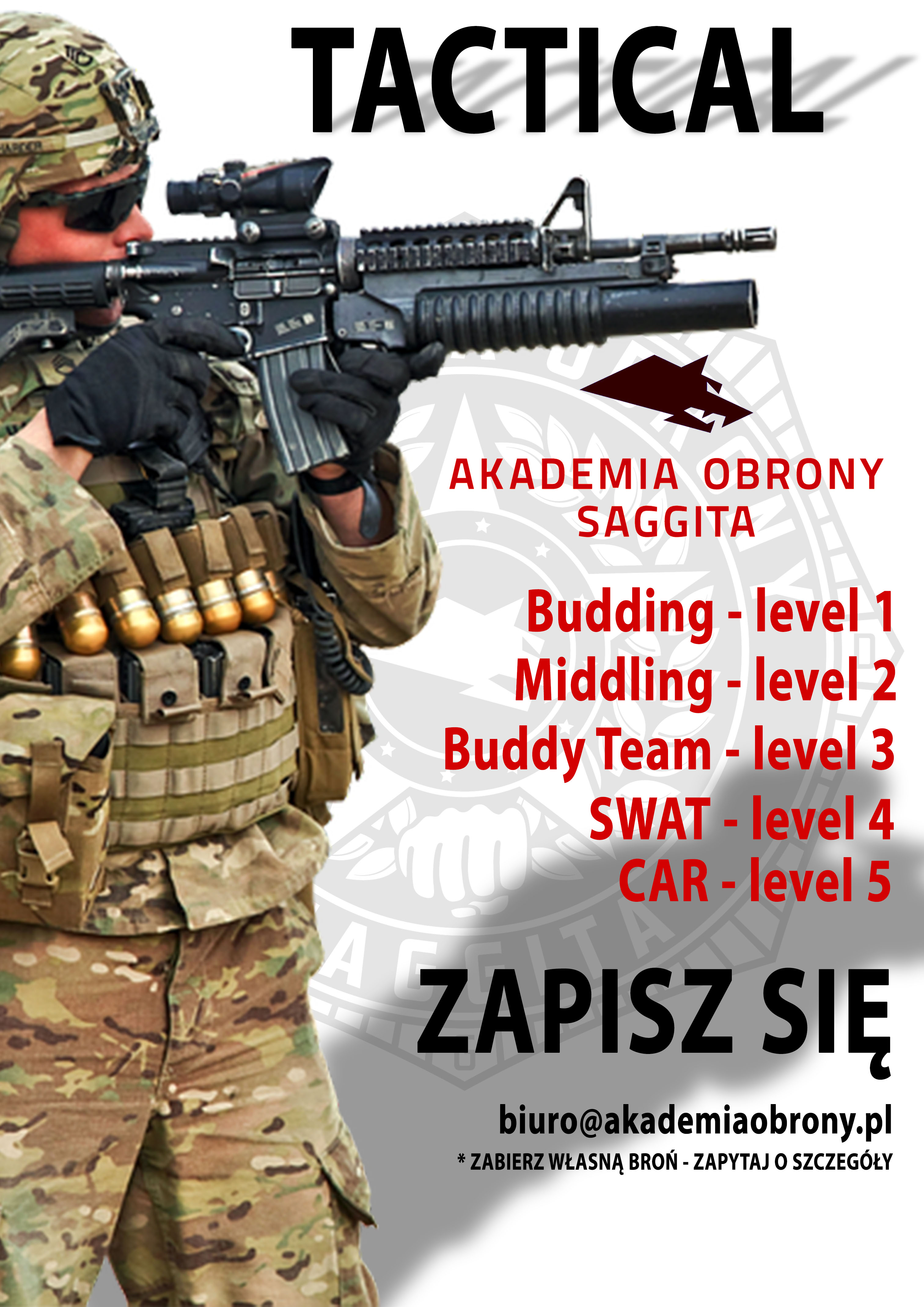 TACTICAL PLAKAT 2