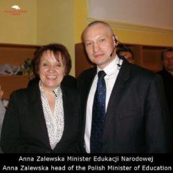 Ochrona Vip Anna Zalewska Minister Deukacji Narodowej Akademia Obrony Saggita Tadeusz Dubicki Krav Maga Wrocław Wałbrzych Świdnica