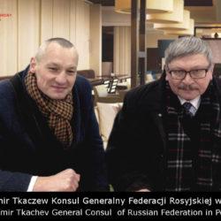 Ochrona Vip Władimir Tkaczew Konsul Generalny Federacji Rosyjskiej Akademia Obrony Saggita Tadeusz Dubicki Krav Maga Wrocław Wałbrzych Świdnica