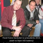 Akademia Obrony Saggita Strzelanie Bojowe Ochrona VIP Tadeusz Dubicki i Paweł Kukiz Kandydat na prezydenta 2015, poseł na Sejm VIII kadencji